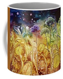 Midnight Flowers Coffee Mug