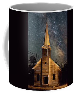 Coffee Mug featuring the photograph Midnight Grove by Darren White