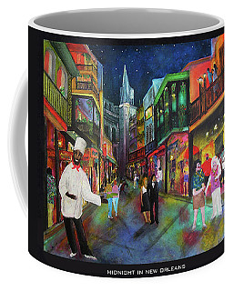 Midnight In New Orleans Coffee Mug