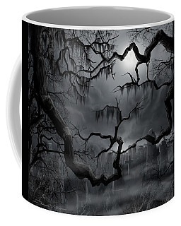 Midnight In The Graveyard II Coffee Mug by James Christopher Hill