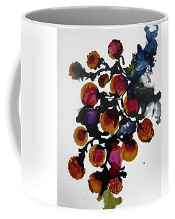 Midnight Magiic Bloom-1 Coffee Mug by Alika Kumar