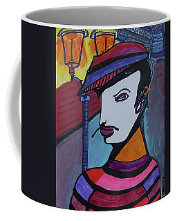 Midnight Mime Coffee Mug