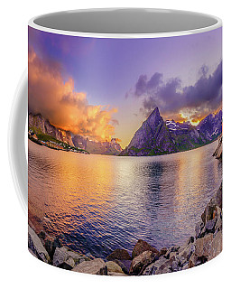 Coffee Mug featuring the photograph Midnight Orange by Dmytro Korol