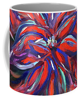 Midnight Poinsettia Coffee Mug