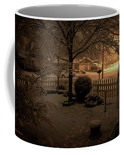 Coffee Mug featuring the photograph Midnight Special by Mick Anderson