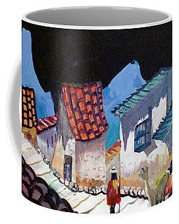 Midnight Walk In Peru Coffee Mug
