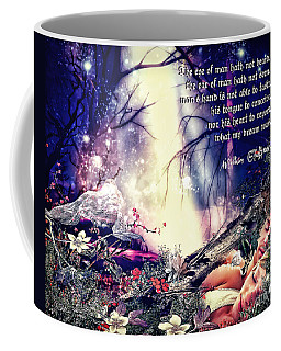 Midsummer Night Dream Coffee Mug by Mo T
