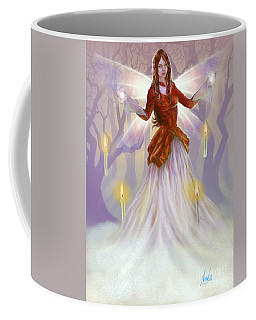 Midwinter Blessings Coffee Mug by Amyla Silverflame