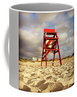 Coffee Mug featuring the photograph Mighty Red by LeeAnn Kendall