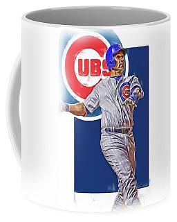 Miguel Montero Chicago Cubs Oil Art Coffee Mug