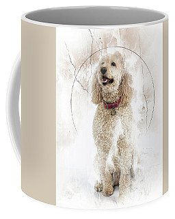 Mike And Millie 100 Coffee Mug by M K  Miller