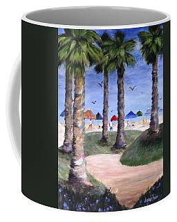 Mike's Hermosa Beach Coffee Mug by Jamie Frier