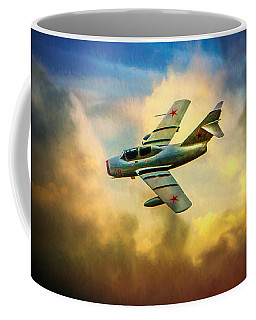 Coffee Mug featuring the photograph Mikoyan-gurevich Mig-15uti by Chris Lord