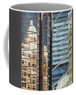 Coffee Mug featuring the photograph Miksang 10 Reflect by Theresa Tahara