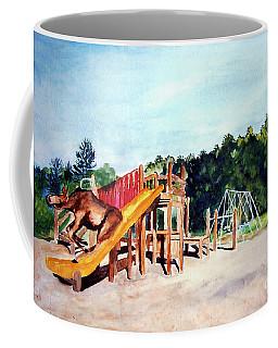 Mildred Goes Down The Slide Coffee Mug