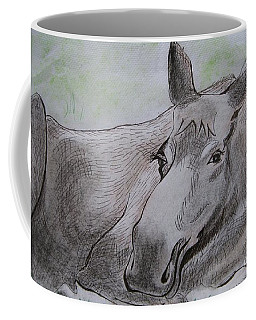 Mildred The Moose Resting Coffee Mug