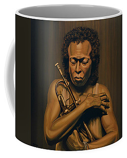 Miles Davis Painting Coffee Mug
