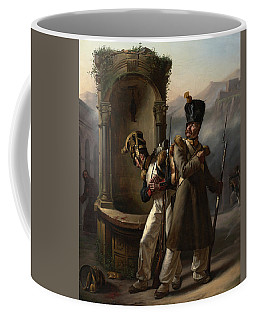 Military Event From Napoleon's First Spanish Campaign Coffee Mug