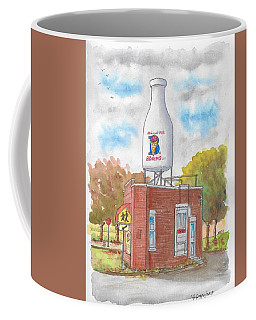 Milk Bottle Building In Route 66, Oklahoma City, Oklahoma Coffee Mug