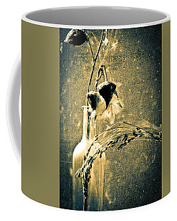 Milk Weed And Hay Coffee Mug by Bob Orsillo