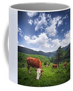 Milka Coffee Mug by Bess Hamiti