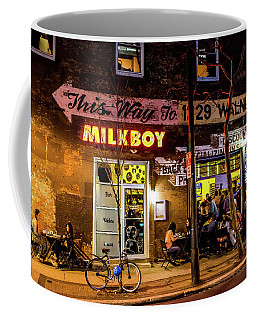 Coffee Mug featuring the photograph Milkboy - 1033 by David Sutton