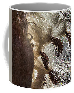 Milkweed Seed Burst Coffee Mug