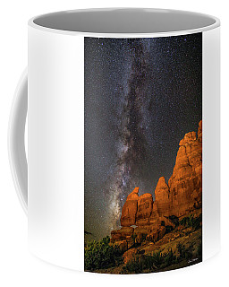 Milky Way And Navajo Rocks Coffee Mug