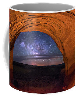 Milky Way At Looking Glass Rock Coffee Mug