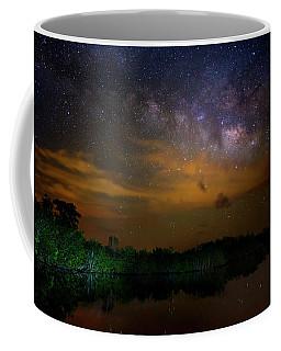Milky Way Fire Coffee Mug by Mark Andrew Thomas