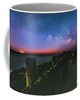 Milky Way Ocean Coffee Mug by Robert Loe