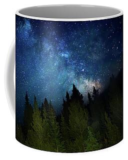 Milky Way On The Mountain Coffee Mug