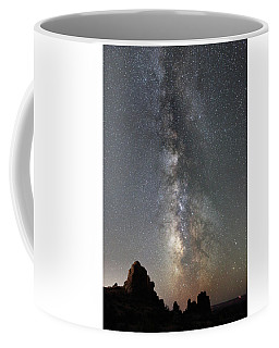 Milky Way Over Arches Np  One Coffee Mug
