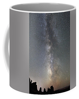 Milky Way Over Arches Np Two Coffee Mug