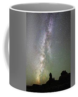 Milky Way Over Arches Np Four Coffee Mug