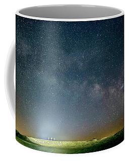 Milky Way Over Christ Pilot Me Hill Coffee Mug