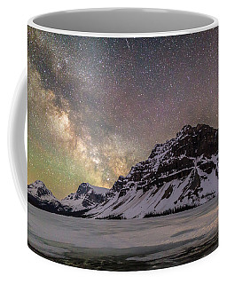 Milky Way Over Crowfoot Mountain Coffee Mug