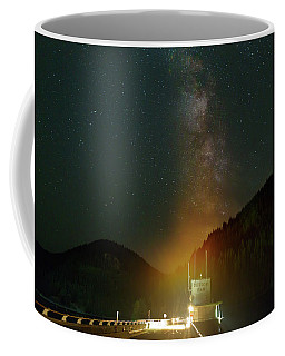 Milky Way Over Detroit Dam Coffee Mug