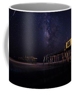 Milky Way Over Frisco Pier Coffee Mug