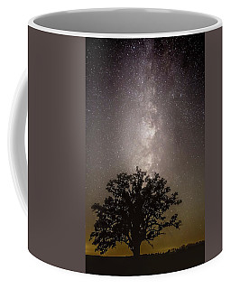 Milky Way Over Mcbaine Oak  Coffee Mug