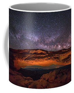 Milky Way Over Mesa Arch Coffee Mug