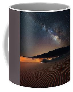 Milky Way Over Mesquite Dunes Coffee Mug by Darren White