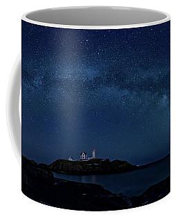 Milky Way Over Nubble Coffee Mug