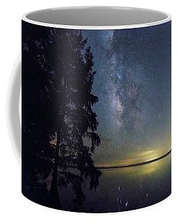 Milky Way Over Phelps Lake Coffee Mug