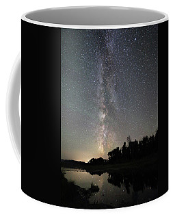 Milky Way Over Schwabacher's Landing Coffee Mug
