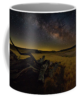 Milky Way Over The Canyon  Ranch Coffee Mug