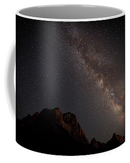 Milky Way Over Zion Coffee Mug