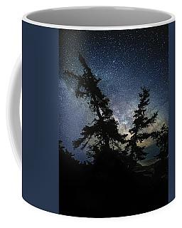Milky Way Rising Coffee Mug by Marty Saccone