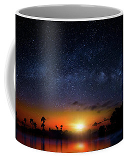 Coffee Mug featuring the photograph Milky Way Sunrise by Mark Andrew Thomas