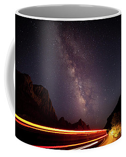 Milkyway Over The Higway Coffee Mug